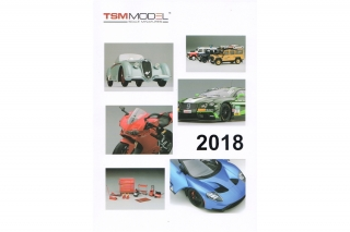 TSM Model - True Scale Models<br />Katalog 2018<br />Katalog - Catalogue