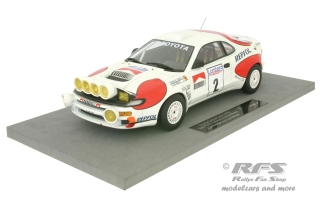 Toyota Celica Turbo 4WD - RAC Rallye 1992<br />Carlos Sainz / Luis Moya - Night Race Version<br />1:18 - Top Marques 034BN