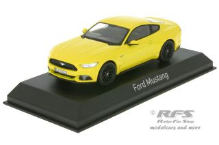 Ford Mustang Fastback<br />2015 - yellow<br />1:43 - Norev 270554