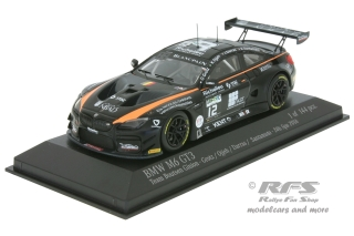 BMW M6 GT3 - 24 Hours of Spa 2016<br />Darras / Grotz / Ojjeh / Santamato  -  # 12<br />1:43 - Minichamps 437162612