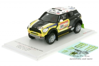 Mini Countryman All4 Racing - Rallye Dakar 2012<br />Nani Roma / Michel Perin  -  # 305<br />1:43 - TSM Model 144343