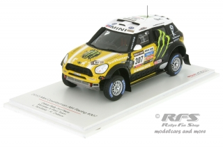 Mini Countryman All4 Racing - Rallye Dakar 2013<br />Leonid Novitskiy / Konstantin Zhiltsov  -  # 307<br />1:43 - TSM Model 144344