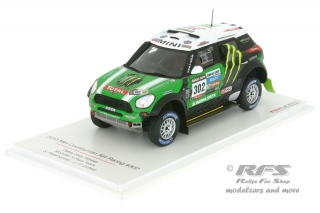 Mini Countryman All4 Racing - Rallye Dakar 2013<br />Stephane Peterhansel / Jean-Pierre Cottret  -  # 302<br />1:43 - TSM Model 144345