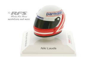 Niki Lauda - Helm<br />Formel 1 Saison 1982 - McLaren International<br />1:8 - TSM Model 15AC08