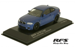 BMW 1er Coupe<br />blau<br />BMW 1er M-Coupe