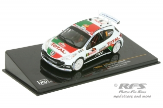 Peugeot 207 S2000 - Rallye Monte Carlo 2010<br />Bruno Magalhaes / Carlos Magalhaes  -  # 9<br />1:43 - IXO RAM 424