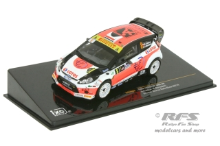 Ford Fiesta RS WRC - Monza Rally Show 2014<br />Robert Kubica / Alessandra Benedetti  -  # 8<br />1:43 - IXO RAM 602
