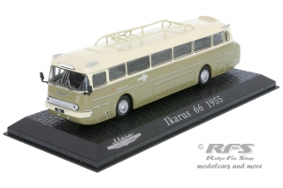 Ikarus 66<br />1955 - Bus<br />1:72 - Altaya Atlas - AL72-1955-Bus-01