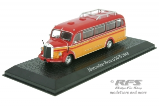 Mercedes-Benz O 3500<br />1949 - Bus<br />1:72 - Altaya Atlas - AL72-1949-Bus-01