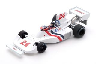 Hesketh 308 - James Hunt<br />Formel 1 Dutch GP 1975  -  # 24<br />1:43 - Spark 2239