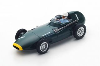 Vanwall VW57 - Stirling Moss<br />Formel 1 Dutch GP 1958  -  # 1<br />1:43 - Spark 4870