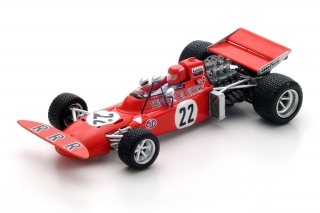 March 711 Ford - Skip Barber<br />Formel 1 Dutch GP 1971  -  # 22<br />1:43 - Spark 5361