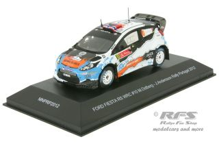 Ford Fiesta RS WRC - Rallye Portugal 2012<br />Mads Östberg / Jonas Andersson  -  # 10<br />1:43 - IXO MNP-RP2012