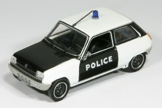 1974 Renault 5 Police 1:43 Polizei