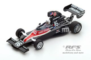 Shadow DN5B Ford - Tom Pryce<br />Formel 1 GP Südafrika 1976  -  # 16<br />1:43 - Spark 3838