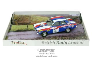 Ford Escort Mk I RS 2000 - Russell Brooks<br />Tour of Britain 1974  -  # 45<br />1:43 - Trofeu BRL 09
