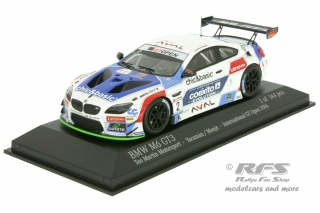BMW M6 GT3 - International GT Open 2016<br />Gustavo Yacaman / Fernando Monje  -  # 52<br />1:43 - Minichamps 437162652