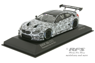 BMW M6 GT3<br />Präsentation - 24h Spa 2015<br />1:43 - Minichamps 437152699