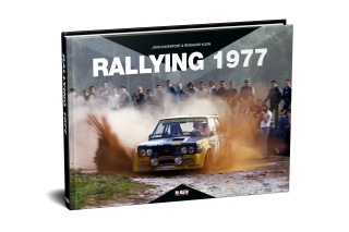 Rallying 1977<br />Rally Yearbook 1977<br />Buch - Book