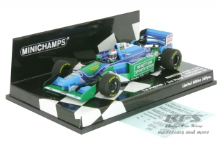 Benetton Ford B194 - Jos Verstappen<br />Formula 1 Hungarian GP 1994  -  First Podium<br />1:43 - Minichamps 417941006