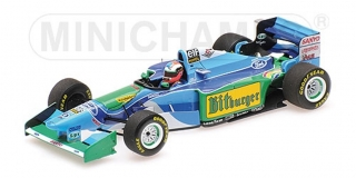 Benetton Ford B194 - Johnny Herbert<br />Formel 1 GP Australien 1994  -  # 6<br />1:43 - Minichamps 417941606