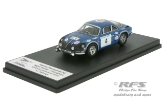 Alpine Renault A110 - Circuit of Ireland 1971<br />Nigel Hollier / Phil Short  -  # 4<br />1:43 - Trofeu  RRir01