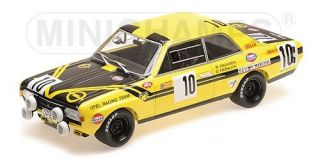 Opel Commodore A  GS/E - 24h Spa 1970<br />Dieter Fröhlich / Willy Kauhsen  -  # 10<br />1:18 - Minichamps 155704610