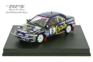 Subaru Impreza WRX 555 - Safari Rallye 1995<br />Richard Burns / Robert Reid  -  # 5<br />1:43 - Trofeu 0630