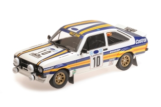 Ford Escort RS 1800 Mk II - Rallye Akropolis 1980<br />Ari Vatanen / David Richards  -  # 10<br />1:18 - Minichamps 155808710