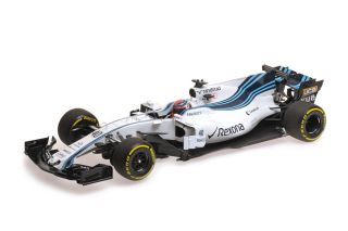 Williams FW40 Mercedes AMG - Robert Kubica<br />Formel 1 Testing Abu Dhabi 2017  -  # 40<br />1:18 - Minichamps 117172040