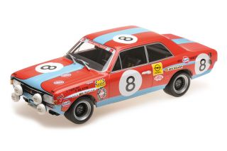 Opel Commodore A GS Steinmetz - 24h Spa 1972<br />Chris Tuerlinckx / Teddy Pilette  -  # 8<br />1:18 - Minichamps 155724608