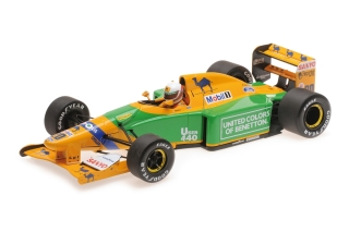 Benetton Ford B192 - Martin Brundle<br />Formula 1 British GP Silverstone 1992  -  # 20<br />1:18 - Minichamps 110920020