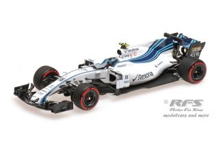 Williams FW40 Mercedes-AMG - Lance Stroll<br />Formula 1 Abu Dhabi GP 2017  -  # 18<br />1:43 - Minichamps 417172018