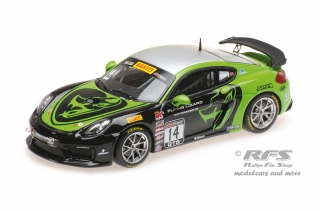 Porsche Cayman GT4 Clubsport MR<br />Pirelli World Challenge GTS 2017 - Nate Stacy<br />1:43 - Minichamps 437171614