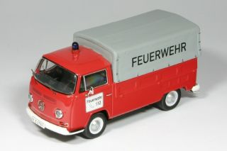 VW T2a - Feuerwehr<br />1967/1979 - 1:43<br />VW T2a - Fire Department