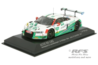 Audi R8 LMS - ADAC GT Masters Season 2017<br />Connor De Phillipi / Christopher Mies  -  # 1<br />1:43 - Minichamps 437171701