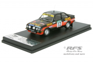 Ford Escort RS 2000 MK II - Rally Portugal 1979<br />Giovanni Salvi / Jorge Cime  -  # 12<br />1:43 - Trofeu Rral 079