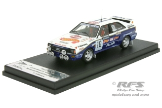 Audi Quattro A2 - National Breakdown Rally 1987<br />John Bosch / Guy Hodgson  -  # 10<br />1:43 - Trofeu RRuk18