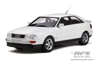 Audi S2 Coupe<br />1991 - Pearl White<br />1:18 - OttOmobile OT 288