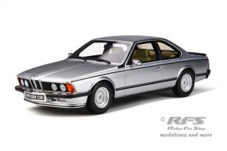 BMW E24 635 CSI<br />1982 - silver polaris metallic<br />1:18 - OttOmobile OT 313