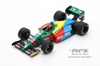 Benetton B188 Ford - Johnny Herbert<br />Formula 1 Brazil GP 1989  -  # 20<br />1:43 - Spark 5203