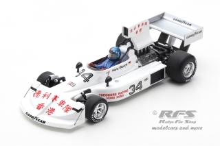 March 761 Ford - Hans-Joachim Stuck<br />Formula 1 Long Beach GP 1976  -  # 34<br />1:43 - Spark 5369