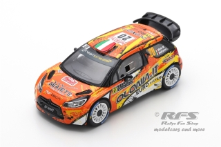 Citroen DS3 WRC - Rally Monte Carlo 2019<br />Mauro Miele / Luca Beltrame  -  # 20<br />1:43 - Spark 5987