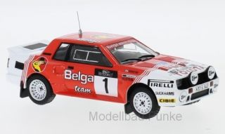 Toyota Celica Twincam Turbo - Haspengouw Rally 1985<br />Juha Kankkunen / Fred Gallagher  -  # 1<br />1:43 - IXO RAC 282