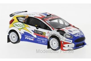 Ford Fiesta R5 - Rally Monte Carlo 2019<br />Adrien Fourmaux / Renaud Jamoul  -  # 26<br />1:43 - IXO RAM 703