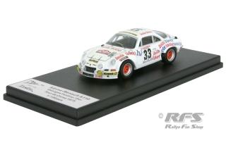 1:43 Trofeu TDC 020 Alpine reanault a110-Rally Tour de Corse 1979-marteil