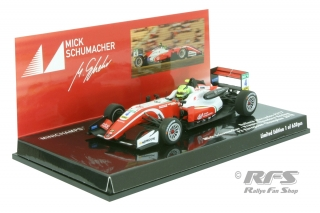 Dallara Mercedes F317 - Mick Schumacher<br />Formula 3 European Champion 2018  -  # 4<br />1:43 - Minichamps 517184304