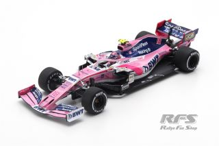 Racing Point RP19 BWT Mercedes - Lance Stroll<br />Formula 1 Chinese GP 2019 - 1000th GP  # 18<br />1:43 - Spark 6086