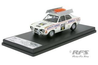 Ford Escort Mk I - World Cup Rally 1974<br />Eric Jackson / Robert Bean  -  # 3<br />1:43 - Trofeu RRuk27