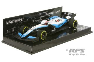 Williams Mercedes FW42 - George Russell<br />Formula 1 Season 2019  -  # 63<br />1:43 - Minichamps 417190063